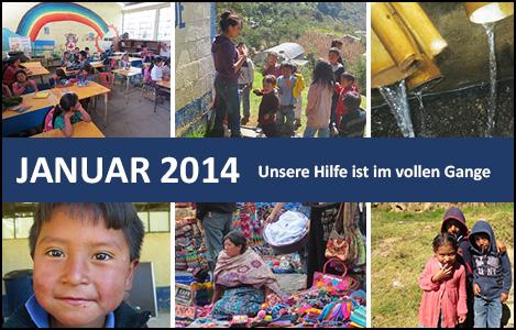 Guatemala Januar 2014