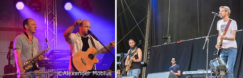 Krämers Kit & Yannik Baum mit Band