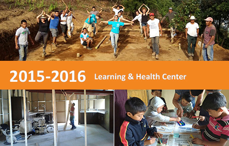 Bau des Learning Centers und erstes Schuljahr 2016