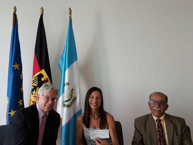 Spende Deutsche Botschaft Guatemala