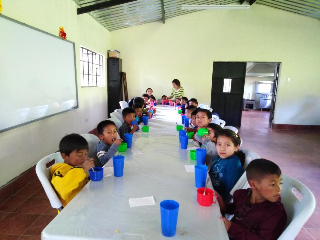neue Küchen im Learning Center - 1. Mahlzeit