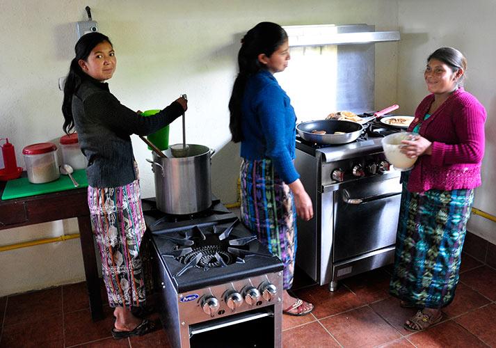Neues Küchengebäude für das Learning Center