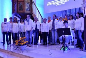 "Gospelchor ""joyful noise"" aus Pleidelheim"